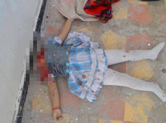 【グロ動画】斬首された幼女 マジで直視できない・・・