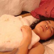 【グロ画像】この女の子の下半身 皮膚が溶けて筋肉まで見えとる・・・