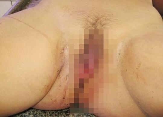 女死体エログロ画像