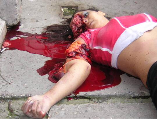死んだ女の子のグロ画像