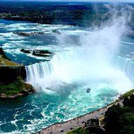 【自殺?】世界三大瀑布ナイアガラの滝で流されていく人が落ちて消えていくまで・・・