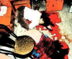【グロ画像】銀行強盗に殺害された2名の女性 警察によって服を剥ぎとられ晒される・・・