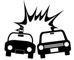 【衝撃】アメリカ式カーチェイスの車載映像 体当たりで横転させた車から飛び出てくる女の子・・・