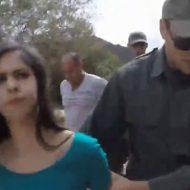 【無修正】密入国しようとした美女が国境警備隊に捕まってしまうとこうなるw