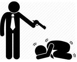 【グロ動画】車で拉致された血まみれ男性  大量の銃弾を浴びせられ殺害される・・・