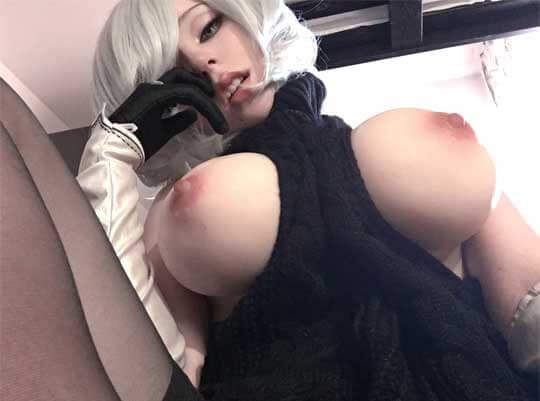 コスプレイヤーアヘ顔エロ画像