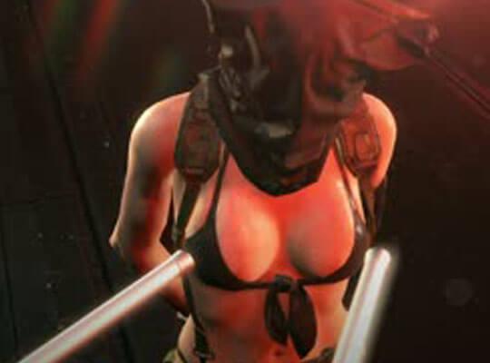 エロ動画メタルギアのクワイエットに拷問性的してみた