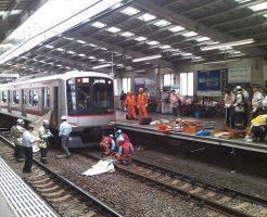 【グロ画像】140キロで走ってる電車に飛び込んだらこうなる・・・ ※人身事故