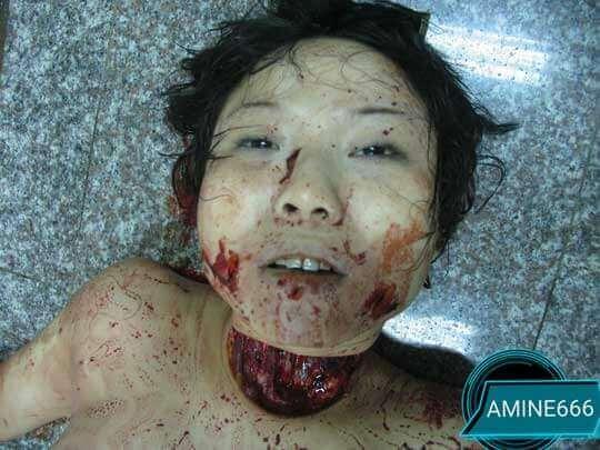 強姦魔にレイプされた後殺害された女性の全裸死体画像