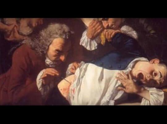 【グロ動画】麻酔無しで体をメスで切っていく 芸術家によるパフォーマンスがヤバい・・・