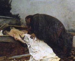 【死姦事件】死亡し埋葬されてすぐの女教師 棺桶から放り出されてレイプされてた・・・ ※グロ画像