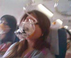 【航空機事故】乗客乗員189人が絶望的 インドネシアの旅客機が墜落する直前に撮影された機内映像・・・