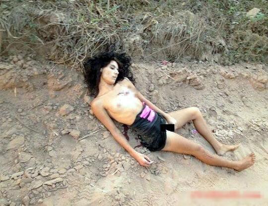 少女レイプ死体画像