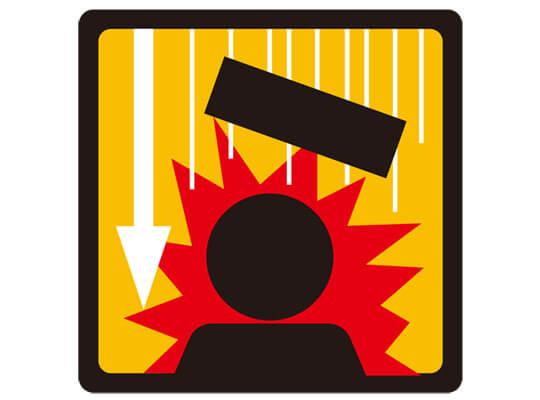 【閲覧注意】避けるの無理ゲー 通行人の頭に氷塊がクリティカルヒットし地面が赤く染まる瞬間・・・