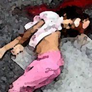 頭を強く打って死亡…向いてはいけない方向に首がねじれてしまった子供の交通事故現場
