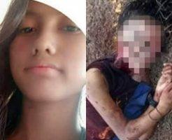 レイプ殺人の被害者となった16歳の美少女。顔面を剥がされ頭蓋骨と下半身丸見えの状態で発見される…※閲覧注意!