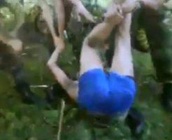 カルテルに鞭で拷問される男の悲鳴 → ヒャァアア!ママー↑ヤベェヨヤベェヨー!!!アーイアイアイwww