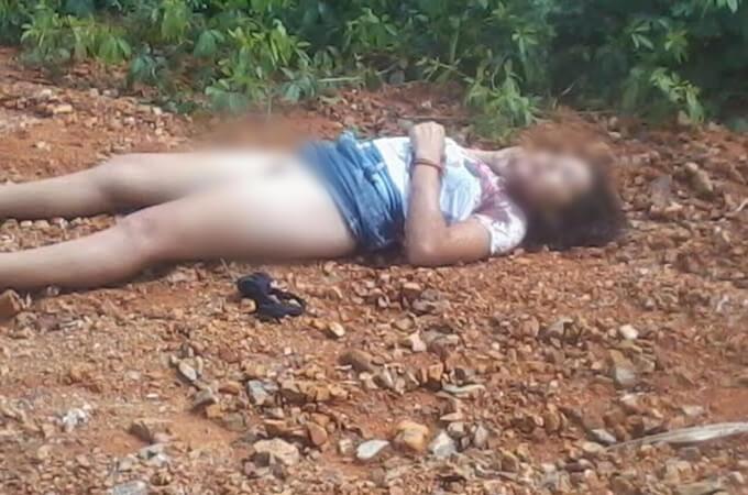 レイプ殺人の犠牲になった13歳の少女…死体の横には脱がされた下着が…※閲覧注意