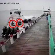 ヨットに爆弾しかけて暗殺?監視カメラが偶然(?)とらえていた衝撃シーンが映画なみの迫力!