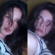 【無修正】イックぅぅぅぅ!っと白人美少女が痙攣しながら白目剥いてイキ続けるエログロムービー!