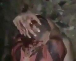 ※超閲覧注意!怯える子供をマチェットで斬首するという胸糞動画が見せしめのために公開されているという事実…