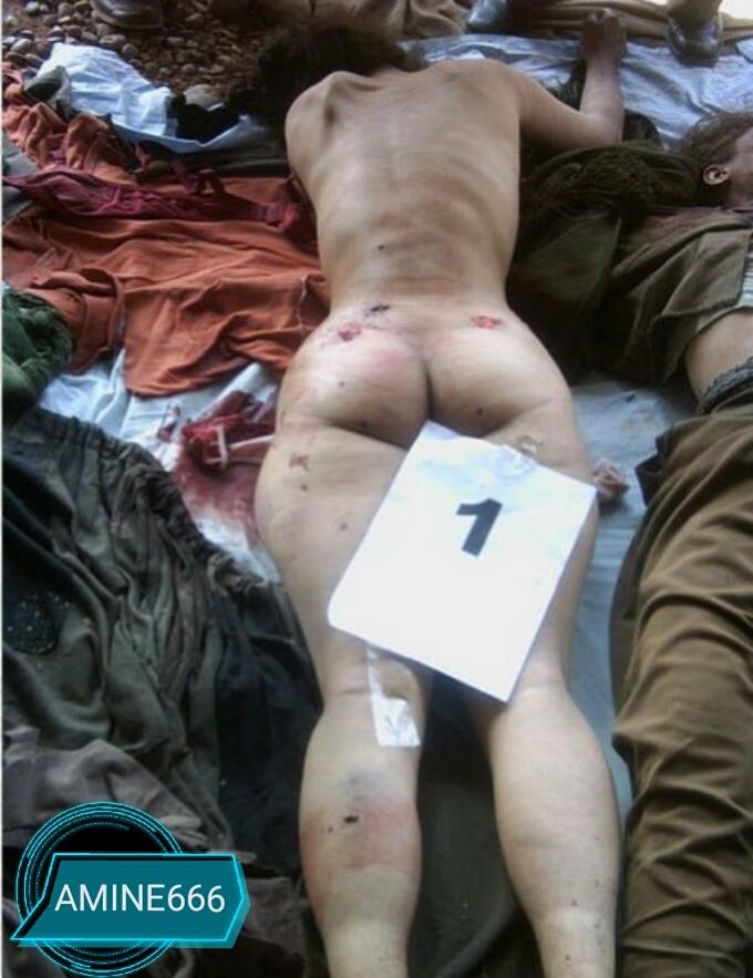 美人ぞろいで知られるPKKの若き女兵士たちの惨たらしい死体画像19枚…衣服を脱がされ血まみれのまま横たわる少女たち