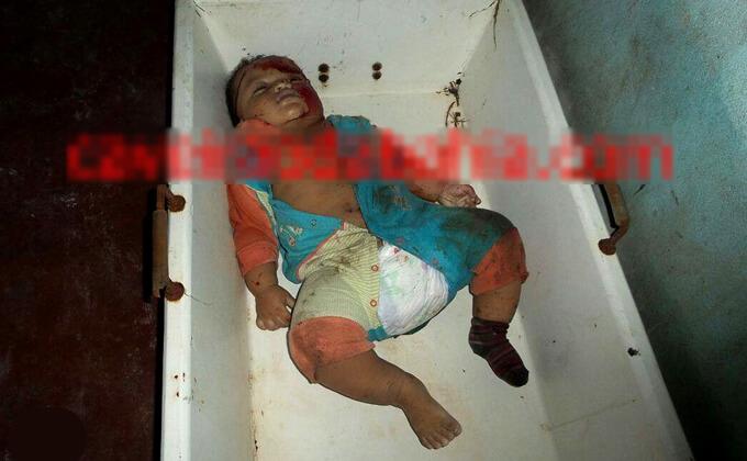 親子3人のグロ死体画像…奥さんと生後まもない赤ん坊を殺害し、首吊って勝手に死んだ旦那さま