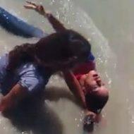 浮気してしまったレズマンさん ヤンデレ彼女にメッタ刺しで溺死させられる…