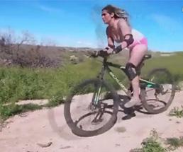 そんな恰好でマウンテンバイク乗って事故ったらそうなるよねwww