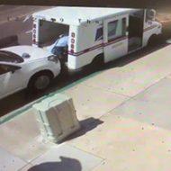 いつもと同じような仕事のはずが…後ろから車に押しつぶされる郵便局員