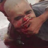 """ISISの処刑映像が流出!三人を斬首して大量に血が溢れ出る…"""""""