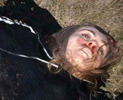 爆発に巻き込まれた女の子、腹部をぶちまけて亡くなる…