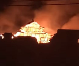 31日未明、世界文化遺産である沖縄・首里城が炎上…