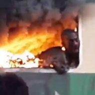 列車火災に巻き込まれた乗客の姿が酷すぎる件について…