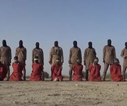 一人を銃殺して残りを斬首…イスラム国ってやっぱりやべぇな…