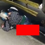 【閲覧注意】トラックに轢かれたカップルの下半身がエグイことに…