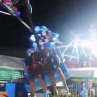 楽しいカーニバルで可愛い女の子二人を襲った怖い事故…