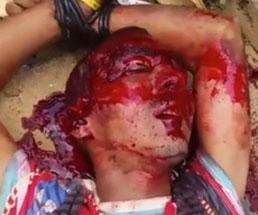 【閲覧注意】カルテル組織ナルコスによって残酷に処刑される男性…