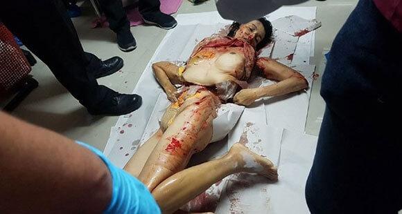 夫によって殺され身体を切断されて冷蔵庫に保管されるとか怖すぎやろ…