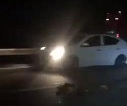 事故でバラバラになった死体…その肉塊を車が轢く音が気持ち悪い…