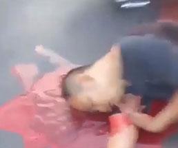 タイで起きた銃乱射事件…負傷者に声をかけるが皆大量の血を流していて…