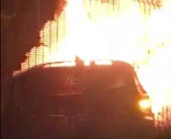 車の火災事故で女性が頭燃やして徘徊してるんだが…