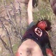 下半身丸出しの状態で男の死体を運び車に結んで引き摺りまわす…