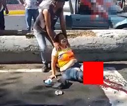 事故で両足を失ってしまった女性の悲痛な叫びが痛々しい…
