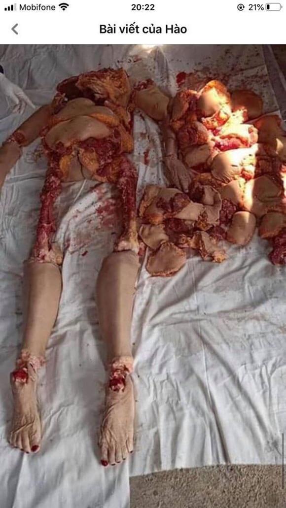 【閲覧注意】息子に殺され身体をバラバラにされてしまった母親の姿がこちら…
