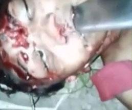 【閲覧注意】すでに息絶えている女性に残虐な行為…顔面をナイフやハンマーで攻撃したり身体を解剖して…