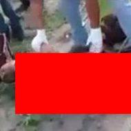 カルテルによって処刑され放置されていた男性の死体がこちら…