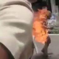 何があったら身体を燃やしながら歩くことになるのか…