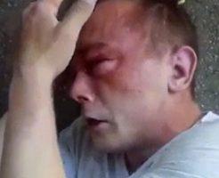 小児性愛者の男性がフルボッコにされてマジ泣きしとる…