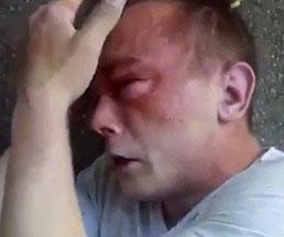 小児性愛者の男性がフルボッコにされてマジ泣きしとるw